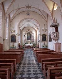 Klosterkirche von innen